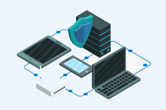 企业网盘安全保障系统